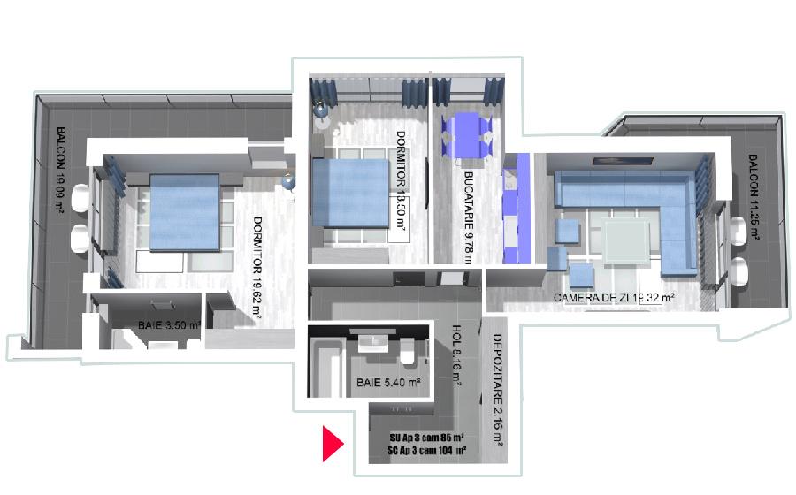 Apartament de vanzare Cumpana Constanta